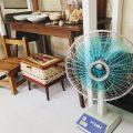 「扇風機」をおしゃれに見せる!生活感を感じさせない夏インテリア