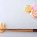 食卓をいつもとちょっと違った雰囲気に♪折り紙で作るかわいいおもてなし箸置き15選!