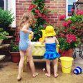 """夏までに作ってあげよう!子どもが遊べる""""ウォーターテーブル""""♪"""
